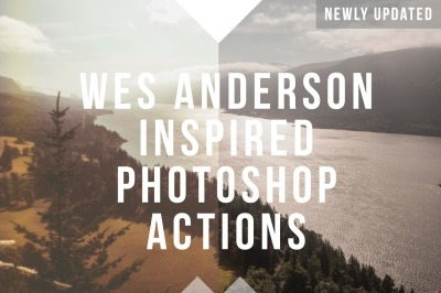 Wes Anderson Inspired Photoshop Actions
