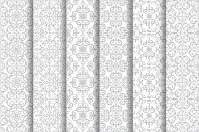 Vintage Arabic seamless patterns