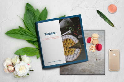 TWISTEE — Dessert Recipe Book