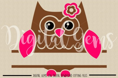 Owl SVG / DXF / PNG Files
