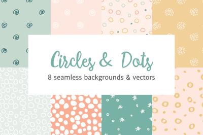 Circles and Dots Patterns