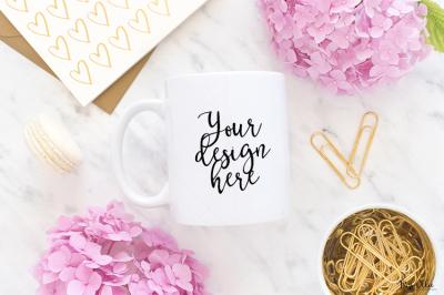 Mug styled stock