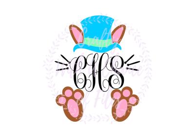 Easter SVG * Easter Bunny Monogram SVG * Easter Monogram SVG * Bunny Monogram SVG * Easter Rabbit SVG * Easter Rabbit Monogram SVG *