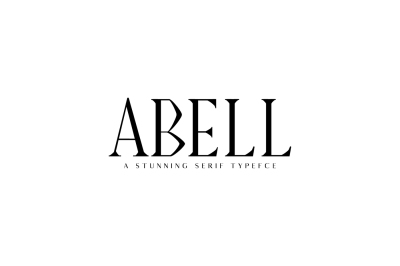 Abell Serif Typeface