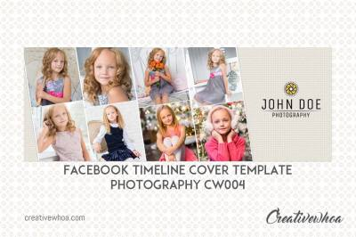 Facebook Timeline Cover Template Photography CW004