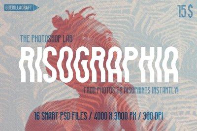 Risographia for Adobe Photoshop