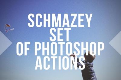 Schmazey Film Emulator Photoshop Action