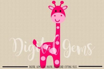 Giraffe SVG / DXF / EPS Files