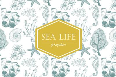Sea Life (VECTOR)