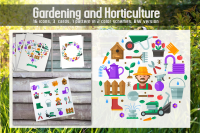 Gardening and Horticulture Set