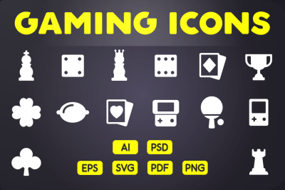 Glyph Icon: Game Icons Vol.1