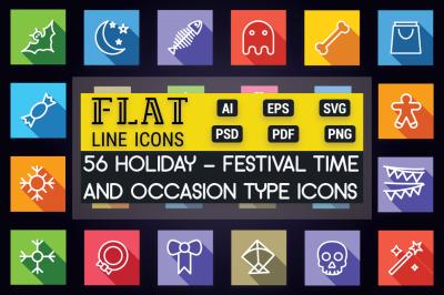 Holiday, Festival & Celebration Icon