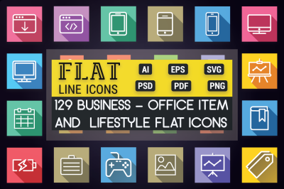 Business - Lifestyle & Office Icons