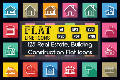 Real-Estate Building & Monument Icon