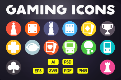 Flat Icon: Game Icons Vol.1