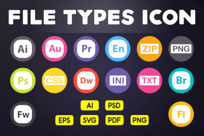 File Format Icon - File Types Icons