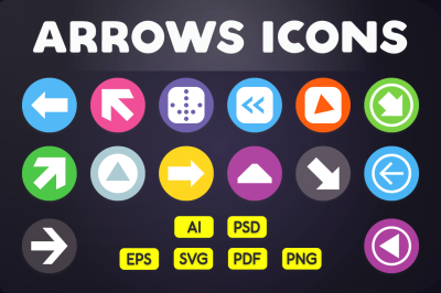 Arrows Icons & User Interface Icon