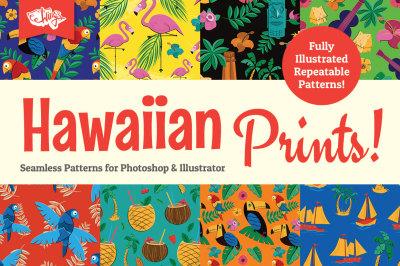 Hawaiian Prints and Seamless Patterns
