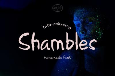 Shambles Handmade Font