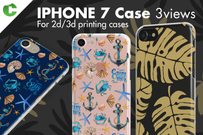 Iphone 7 case - 3 views