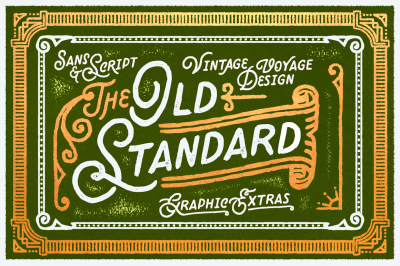 Old Standard • Graphic Extras