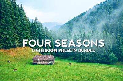 50% Off! - Four Seasons Lightroom Presets Bundle