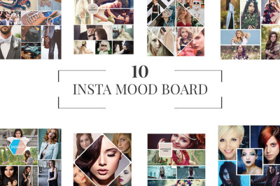 10 Insta Mood Board Templates Ver. 1