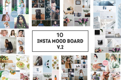 10 Insta Mood Board Templates Ver. 2
