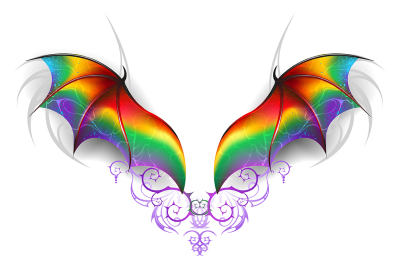 Wings of Rainbow Dragon
