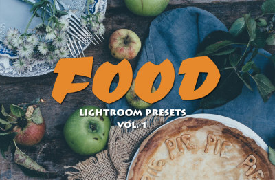 20 Food Photography Lightroom Presets Ver. 1