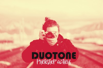 Duotone Photoshop Actions Vol. 1