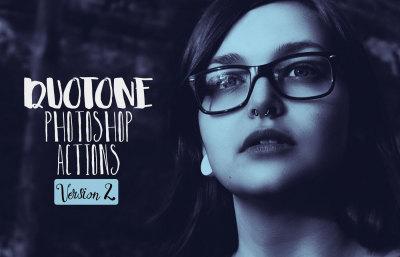 Duotone Photoshop Actions Vol. 2