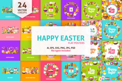 Happy Easter Concepts