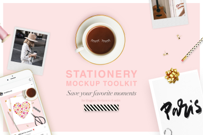 Stationery mockup toolkit
