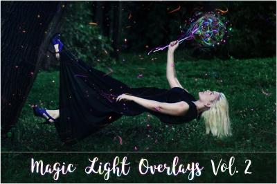 4KMagic Light Overlays Vol. 2