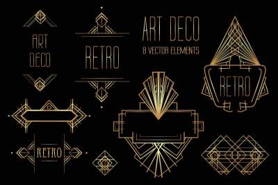 Art Deco Elements vol.1