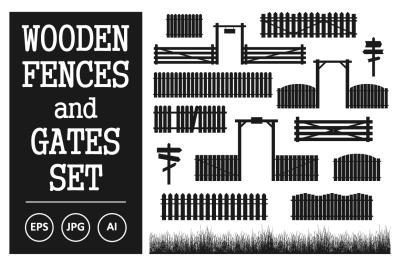 Vector Fences and Gates Set