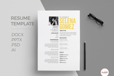 Professional CV and Cover Letter template