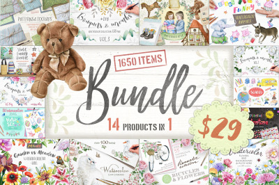 DISCOUNT BUNDLE 14 Products in 1