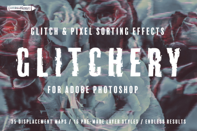 Glitchery for Adobe Photoshop