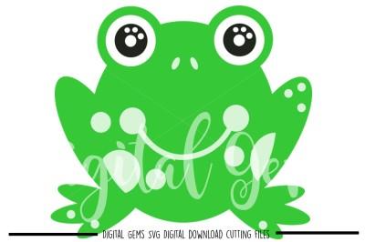 Frog SVG / DXF / PNG / EPS Files
