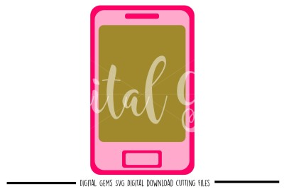 Cell Phone SVG / DXF / EPS / PNG Files