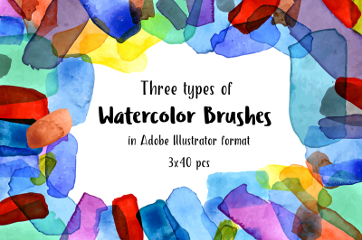 Watercolor Brushes 1