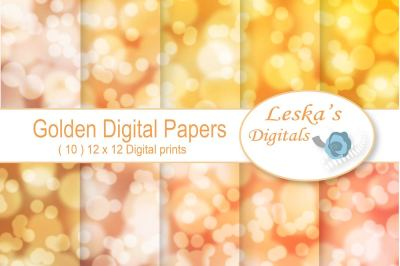 Bokeh Digital Paper - Backdrop