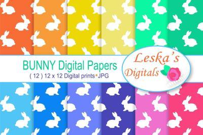 Digital Paper - Bunny Rabbit