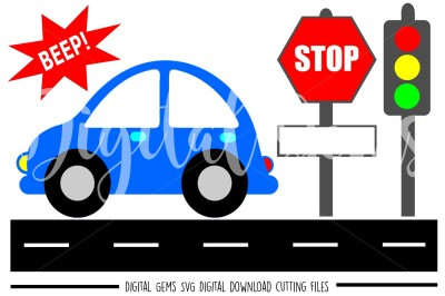 Car SVG / DXF / EPS / PNG files