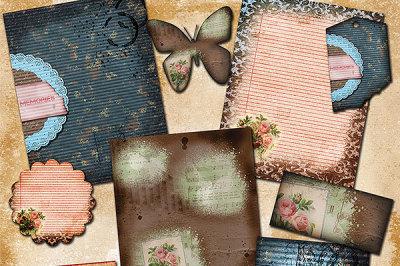 Vintage Memories Journal Papers