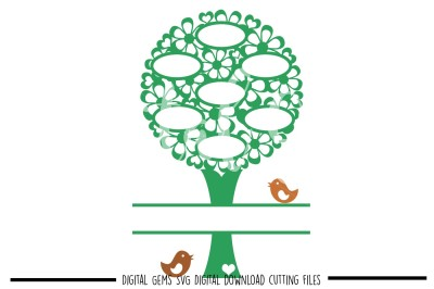 Family Tree SVG / DXF / EPS / PNG Files
