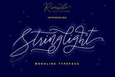 Stringlight Typeface