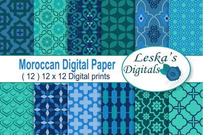 MOROCCAN Digital Pattern Paper